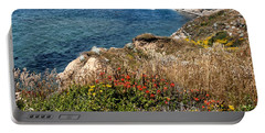 Springtime On The California Coast Portable Battery Charger