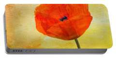 Springtime Poppy Beauty Portable Battery Charger