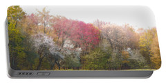 Portable Battery Charger featuring the photograph Springtime Trees In Bloom  by Brooke T Ryan