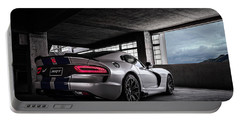 Srt Viper Portable Battery Charger by Douglas Pittman
