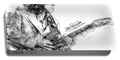 Stevie Ray 1 Portable Battery Charger by Gary Bodnar