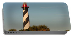 St. Augustine Lighthouse #3 Portable Battery Charger by Paul Rebmann