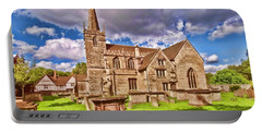 St Cyriac Church Lacock Portable Battery Charger