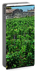 Portable Battery Charger featuring the photograph St. Emilion Winery by Joan  Minchak