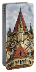 St. Francis Of Assisi Church In Vienna Portable Battery Charger