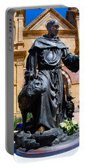 St Francis Of Assisi - Santa Fe Portable Battery Charger