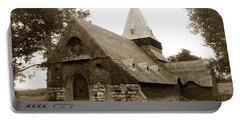 St. Johns Chapel Del Monte Monterey California 1895 Portable Battery Charger
