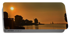 St Joseph Lighthouse Sunset Portable Battery Charger