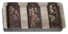 St Josephs Arcade - The Mission Inn Portable Battery Charger by Glenn McCarthy Art and Photography