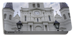 St. Louis Cathedral Close-up Portable Battery Charger