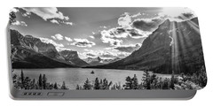 St. Mary Lake Bw Portable Battery Charger