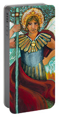 St. Michael The Archangel Portable Battery Charger
