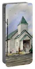 St. Paul Congregational Church Portable Battery Charger by Sam Sidders