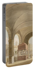 St. Pauls, Covent Garden C.1765-75 Graphite And Wc On Paper Portable Battery Charger