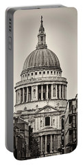 St Pauls London Portable Battery Charger by Heather Applegate