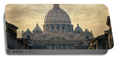 St Peter's Afternoon Glow Portable Battery Charger