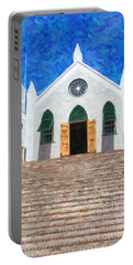 Portable Battery Charger featuring the photograph St. Peter's Church  by Verena Matthew