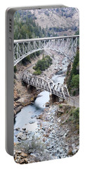 Stacked Bridges Portable Battery Charger by Holly Blunkall