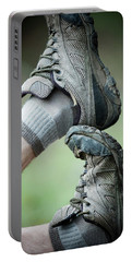 Stacked Hiking Shoes Portable Battery Charger