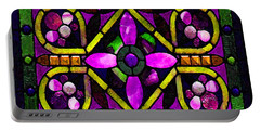 Stained Glass 3 Portable Battery Charger