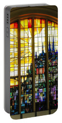 Stained Glass Luxembourg Portable Battery Charger