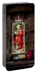 Stained Glass Window 2 Portable Battery Charger