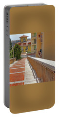 Stairway In Monaco French Riviera Portable Battery Charger