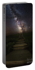 Stairway To The Galaxy Portable Battery Charger