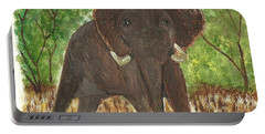 Standing My Ground Portable Battery Charger by Tracey Williams
