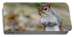 Standing Squirrel Portable Battery Charger