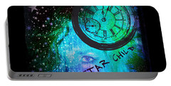Star Child - Time To Go Home Portable Battery Charger