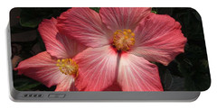 Star Flower Portable Battery Charger by Barbara Griffin
