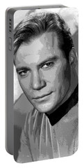 Star Trek William Shatner Pre 1970 Portable Battery Charger by R Muirhead Art