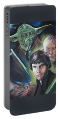 Star Wars Medley Portable Battery Charger by Peter Suhocke