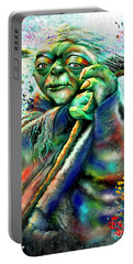 Star Wars Yoda Portable Battery Charger by Daniel Janda