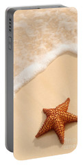 Starfish And Ocean Wave Portable Battery Charger