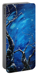 Stargazer Portable Battery Charger by Meaghan Troup