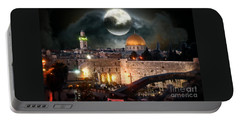 Full Moon Israel Portable Battery Charger