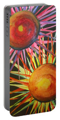 Stars With Colors Portable Battery Charger by Chrisann Ellis