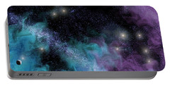 Starscape Nebula Portable Battery Charger