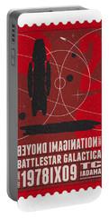 Starschips 02-poststamp - Battlestar Galactica Portable Battery Charger by Chungkong Art