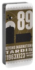 Starschips 89-bonus-poststamp - Dr Who - Tardis Portable Battery Charger by Chungkong Art