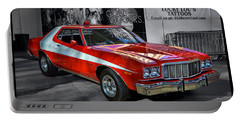 Starsky And Hutch Grand Torino Portable Battery Charger