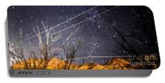 Stars Drunk On Lightpaint Portable Battery Charger