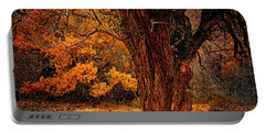 Stately Oak Portable Battery Charger by Priscilla Burgers