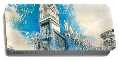 Stately Spires Portable Battery Charger
