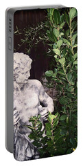 Portable Battery Charger featuring the photograph Statue 1 by Pamela Cooper