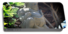 Statue In The Sun Portable Battery Charger