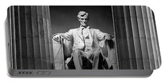 Statue Of Abraham Lincoln Portable Battery Charger