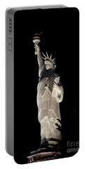 Statue Of Liberty After Midnight Portable Battery Charger